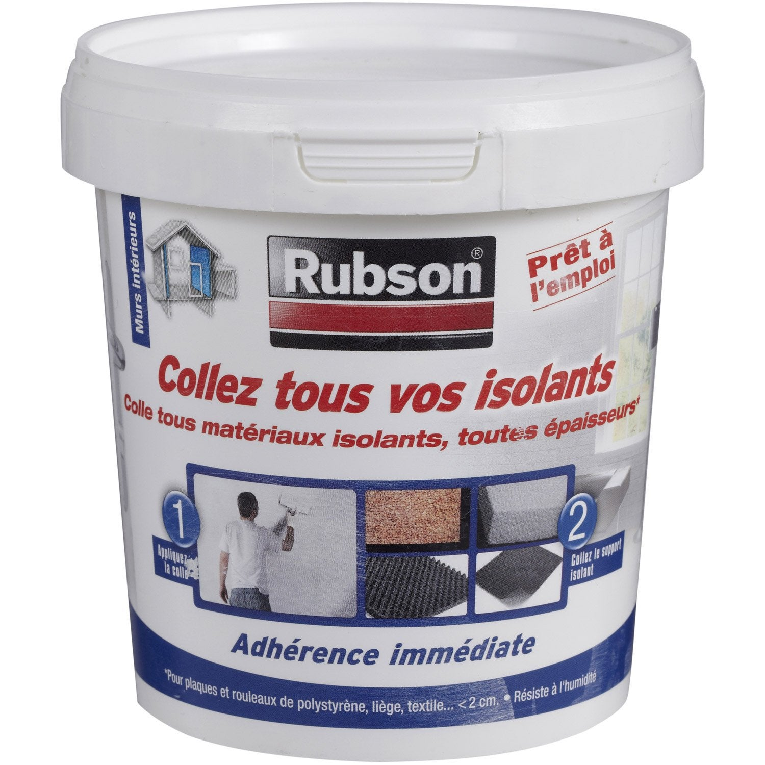 Colle Pour Mat Riaux Isolants Universelle Rubson X Mm Mm Leroy Merlin