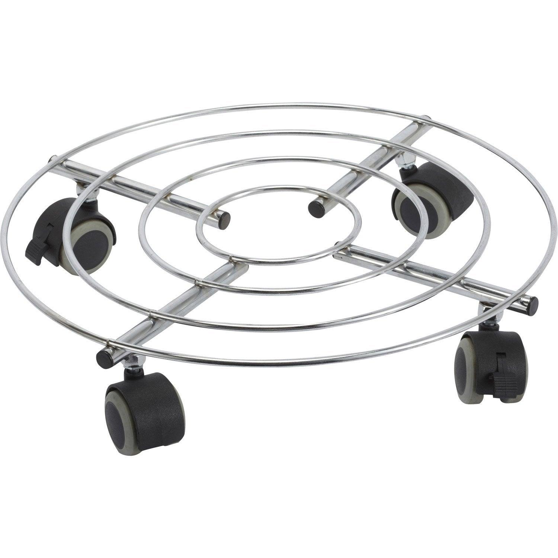 support-roulant-de-decoration-acier-charge-supportee-80-kg Meilleur De De Leroy Merlin Parasol Des Idées