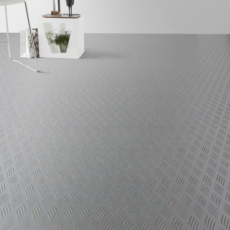 sol vinyle reflex m tal brut artens 4 m leroy merlin. Black Bedroom Furniture Sets. Home Design Ideas