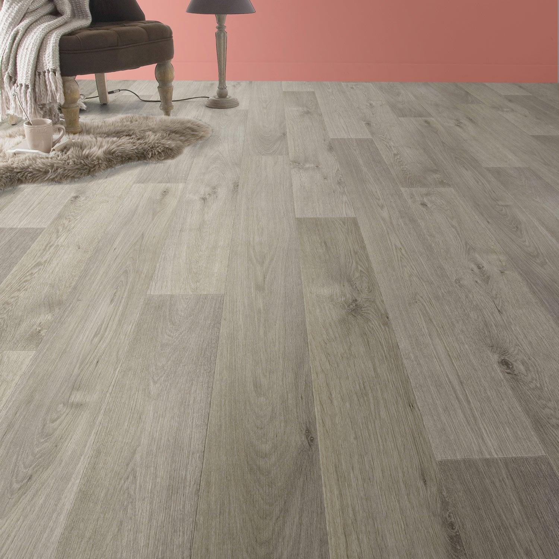 sol vinyle textile timber light artens 4 m leroy merlin. Black Bedroom Furniture Sets. Home Design Ideas