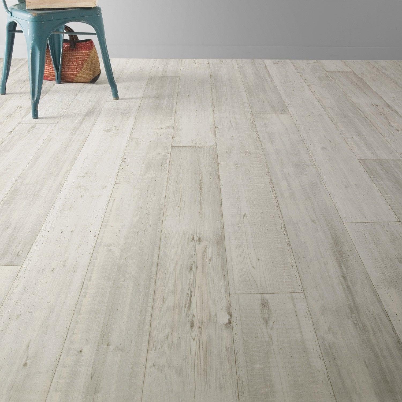 sol pvc blanc drift wood premium l 4 m leroy merlin. Black Bedroom Furniture Sets. Home Design Ideas