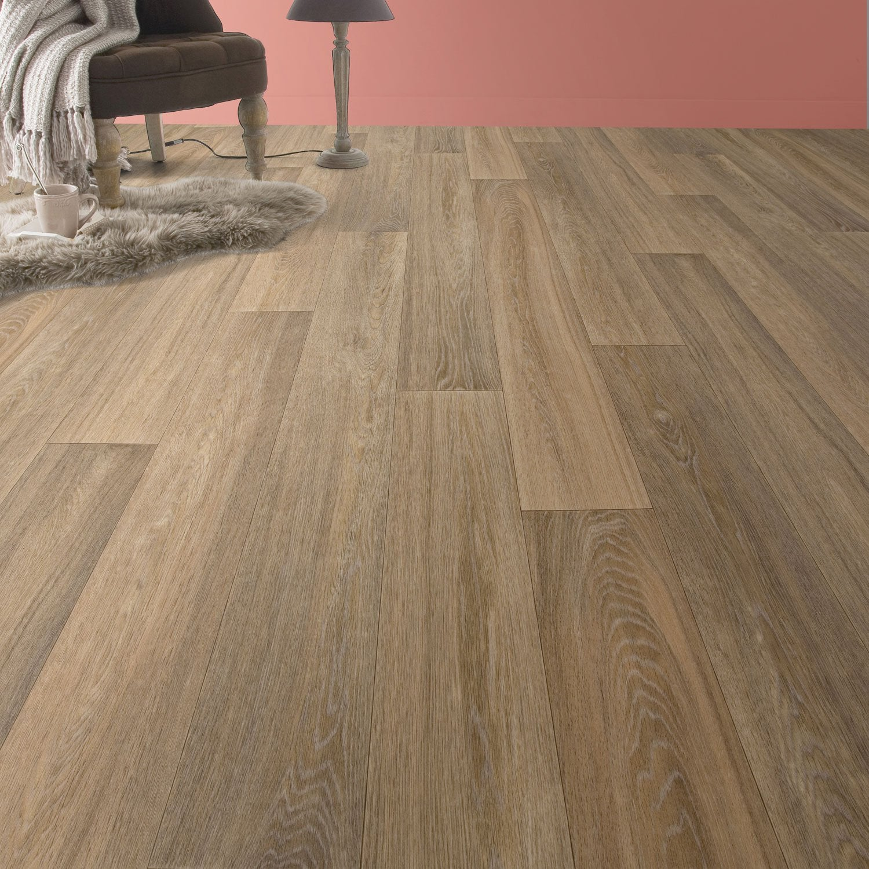sol vinyle premium pure oak nat cerus 4 m leroy merlin. Black Bedroom Furniture Sets. Home Design Ideas