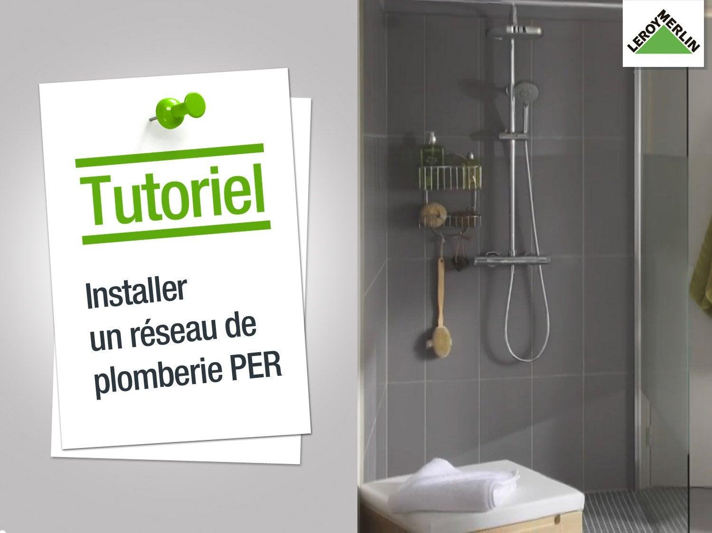 Plan d39installation d39une maison en plomberie for Carrelage adhesif salle de bain avec spot led encastrable orientable extra plat