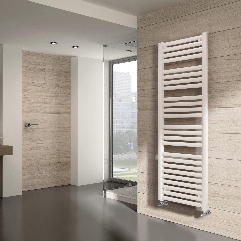 s che serviettes eau chaude acier equation concept blanc 758 w leroy merlin. Black Bedroom Furniture Sets. Home Design Ideas
