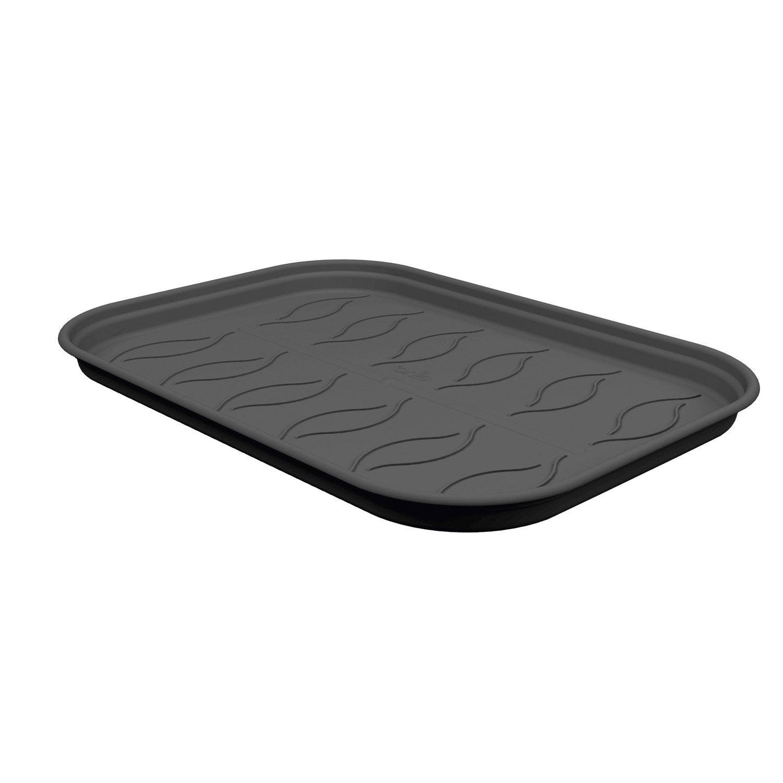 soucoupe pour plateau de culture en polycarbonate simple paroi noir m leroy merlin. Black Bedroom Furniture Sets. Home Design Ideas