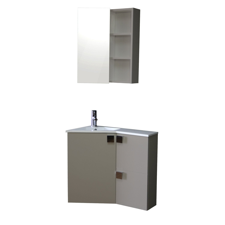 Accessoire salle de bain leroy merlin solutions pour la - Meuble de salle de bains leroy merlin ...