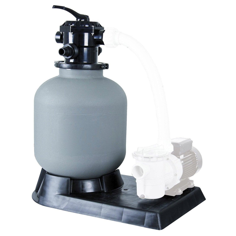 filtre sable pour piscine ubbink 17 m h leroy merlin