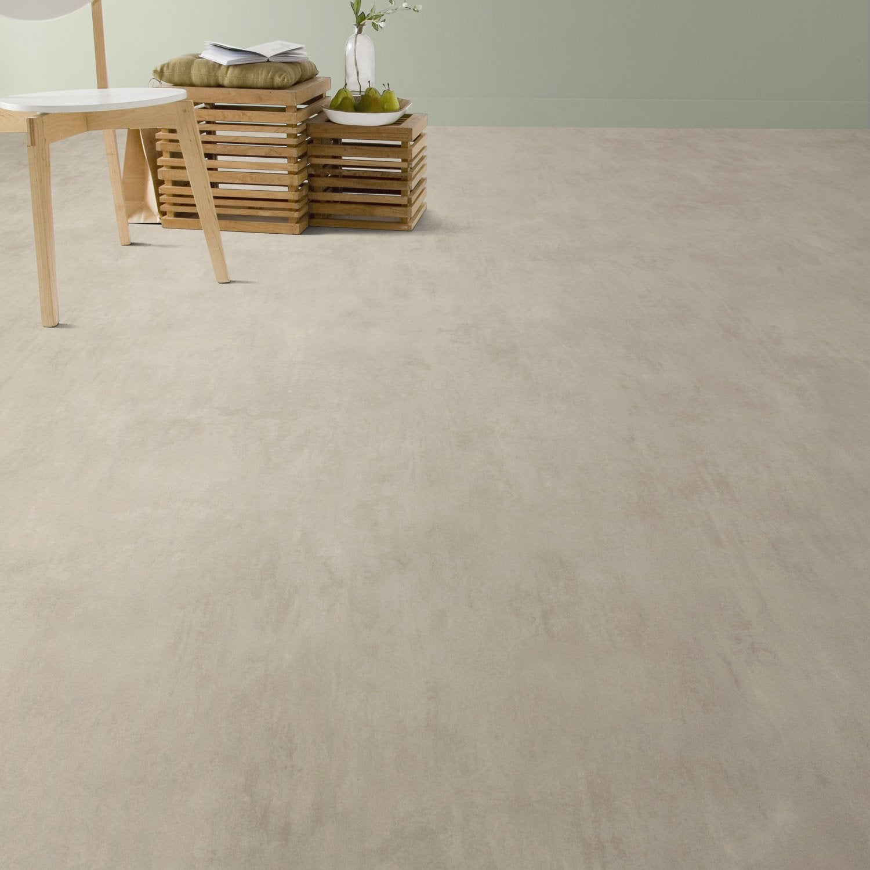 Sol pvc beige madras artens textile l 4 m leroy merlin - Sol pvc leroy merlin ...
