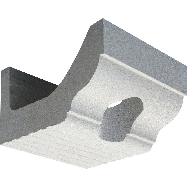 corniche co profil doucine descente ep blanc cass. Black Bedroom Furniture Sets. Home Design Ideas
