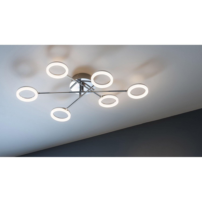 plafonnier design led integree iring metal chrome brosse 6 x 230 w inspire Résultat Supérieur 15 Nouveau Applique Plafond Leroy Merlin Photos 2018 Phe2