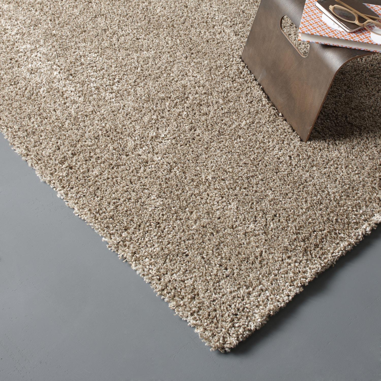 tapis gris shaggy lizzy x cm leroy merlin. Black Bedroom Furniture Sets. Home Design Ideas