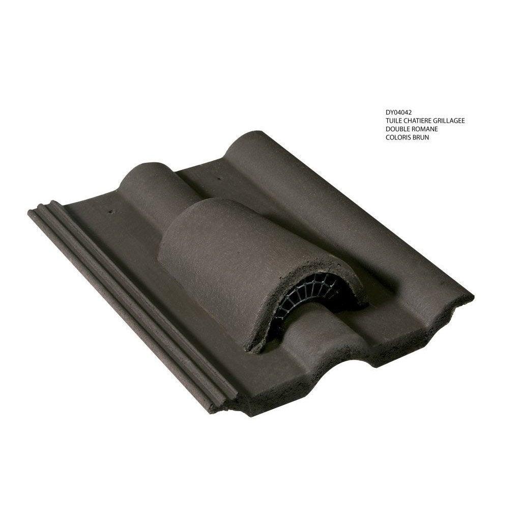 chati re et grille monier brun leroy merlin. Black Bedroom Furniture Sets. Home Design Ideas
