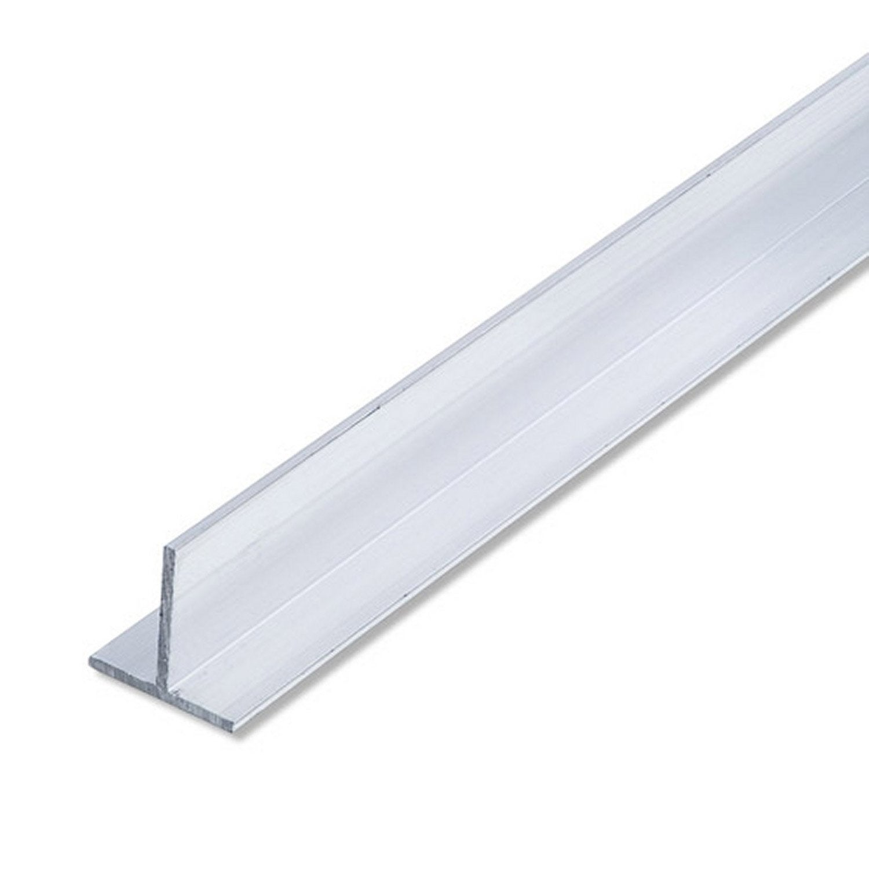 T carr aluminium brut l 2 5 m x l cm x h cm - Barre de seuil leroy merlin ...