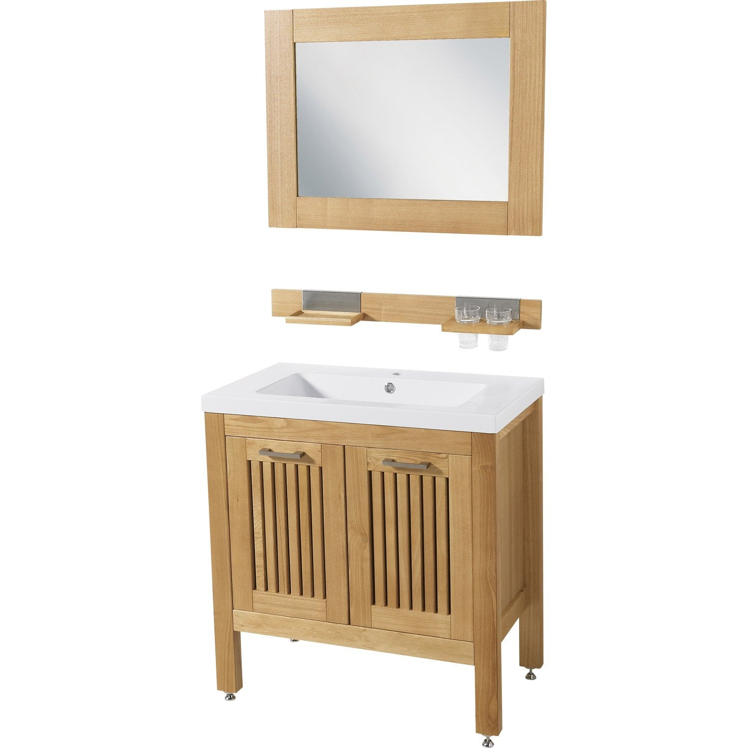Mobilier table leroy merlin meuble sous lavabo for Meuble sous vasque leroy merlin