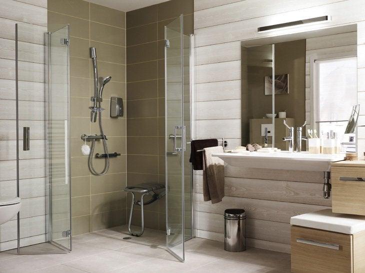bien concevoir une salle de bains facile vivre leroy merlin. Black Bedroom Furniture Sets. Home Design Ideas