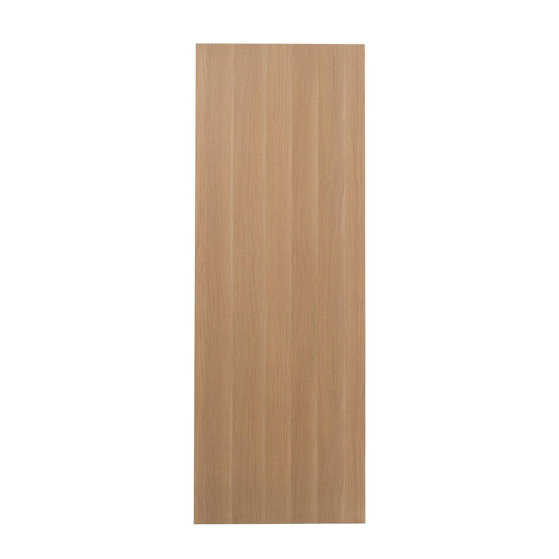 Porte coulissante rev tu d cor ch ne gris malaga 204 x - Porte coulissante 73 cm castorama ...