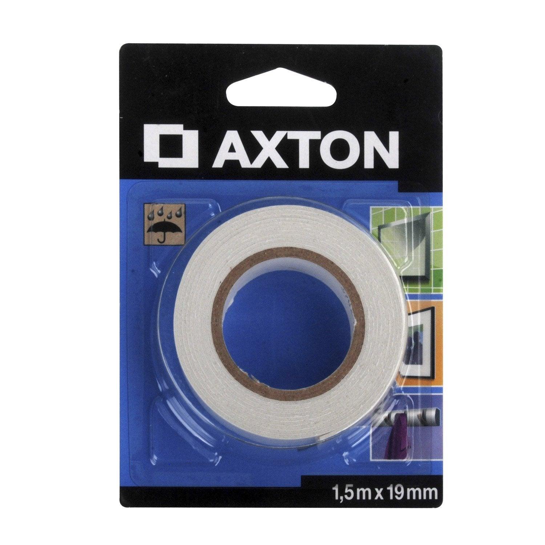adh sif axton fixation miroir l 1 5 m x mm blanc. Black Bedroom Furniture Sets. Home Design Ideas