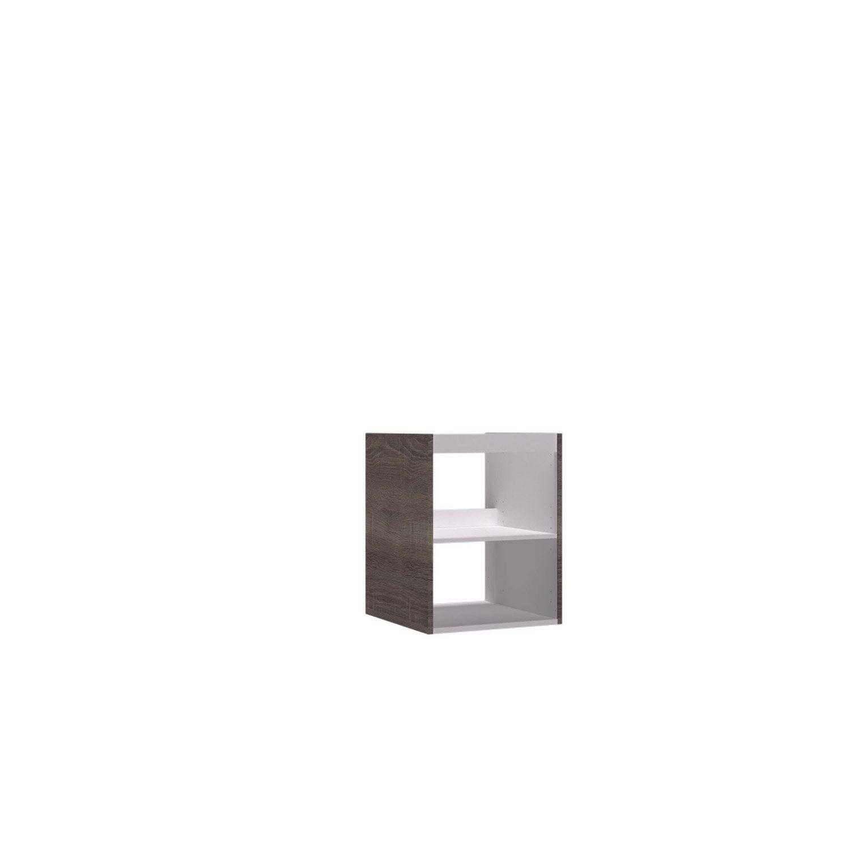 Meuble sous vasque x x cm remix leroy for Carrelage 45 x 45