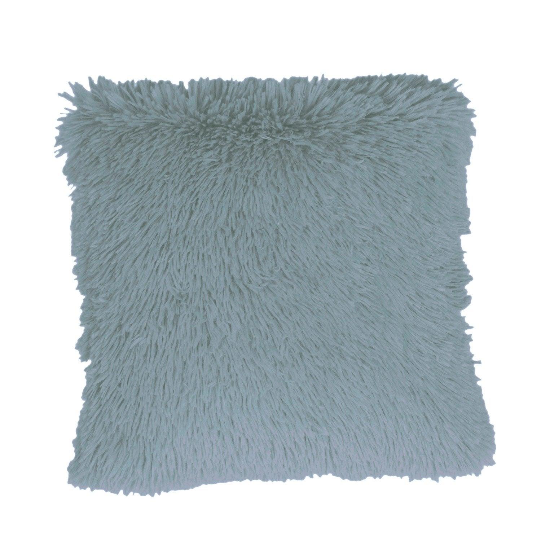 coussin anouk bleu x cm leroy merlin. Black Bedroom Furniture Sets. Home Design Ideas