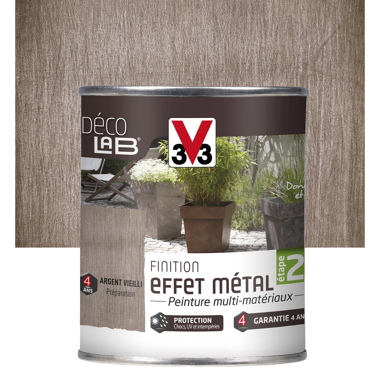 peinture effet vieilli gris peinture de finition effet m tal ext rieur d co v33. Black Bedroom Furniture Sets. Home Design Ideas