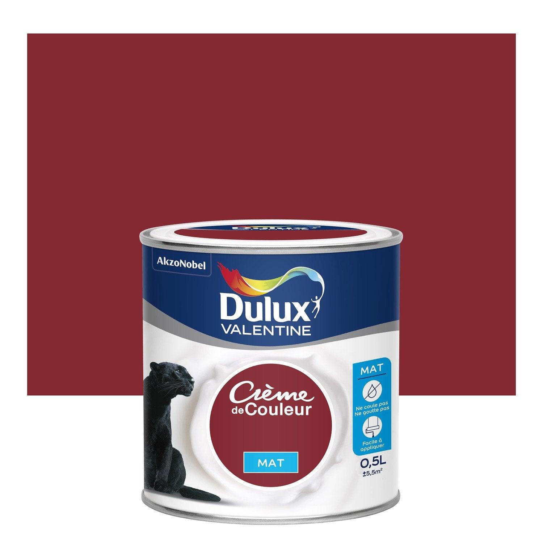 peinture crme dulux valentine peinture blanc satin monocouche l dulux valentine brico dpt. Black Bedroom Furniture Sets. Home Design Ideas