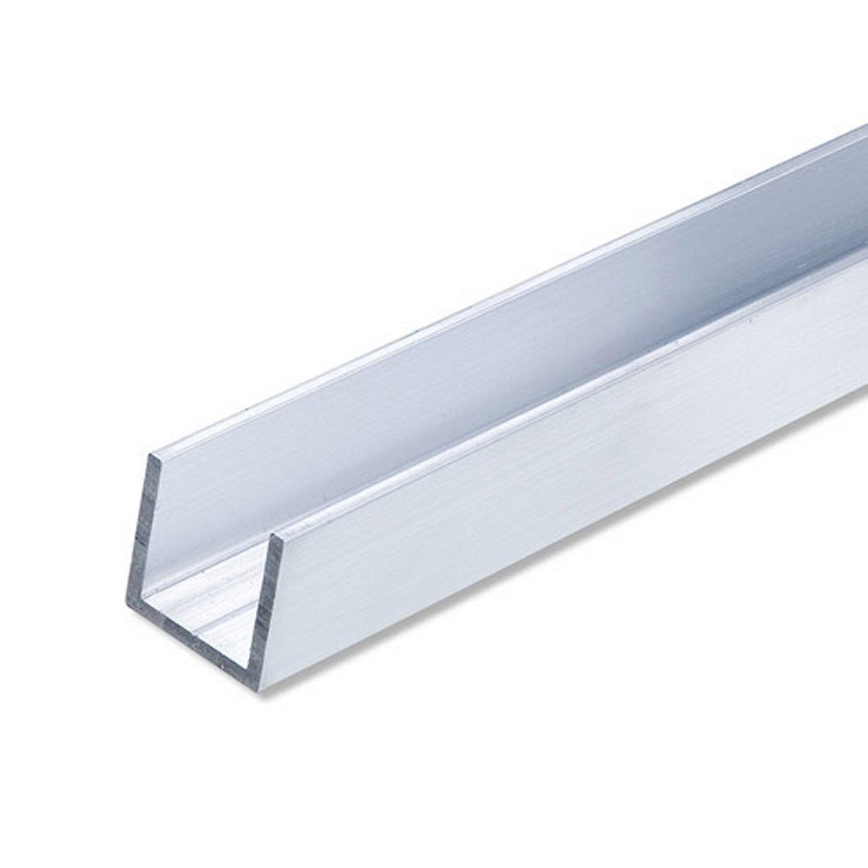 U carr aluminium brut l 2 5 m x l cm x h cm leroy merlin - Leroy merlin jardin en carre nantes ...