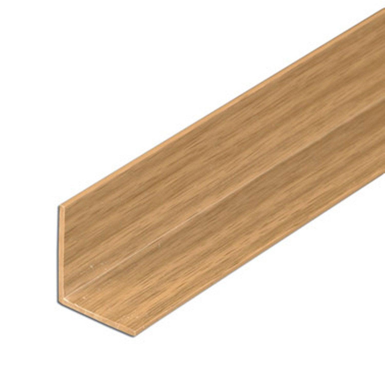 corni re in gale pvc mat l 2 m x l 2 2 cm x h 2 2 cm leroy merlin. Black Bedroom Furniture Sets. Home Design Ideas