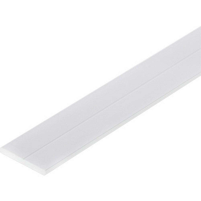 Plat pvc mat l 1 m x l cm leroy merlin - Plat aluminium leroy merlin ...