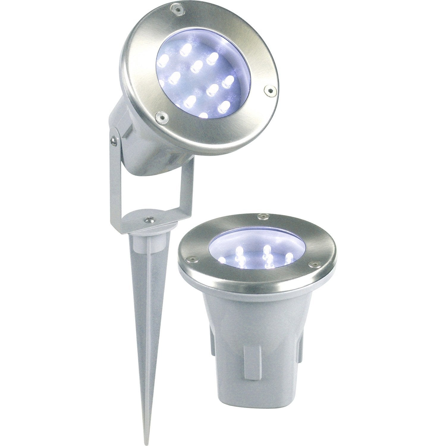 Spot piscine amazing spot piscine par led w rgb with spot for Spot piscine desjoyaux