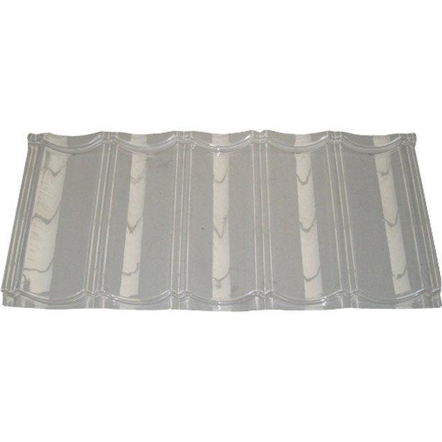 tuile translucide pvc transparent m leroy merlin. Black Bedroom Furniture Sets. Home Design Ideas