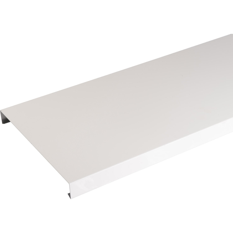 couvertine aluminium 30 x 270 mm l 2 m leroy merlin. Black Bedroom Furniture Sets. Home Design Ideas