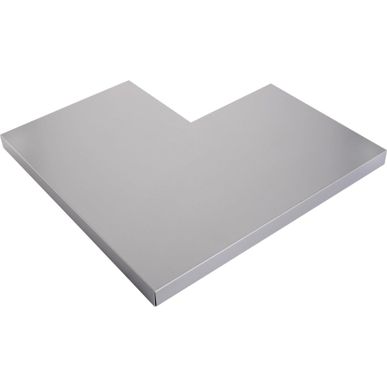 angle pour couvertine aluminium 30 x 270 mm l m leroy merlin. Black Bedroom Furniture Sets. Home Design Ideas