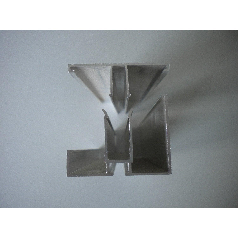Profil bordure pour plaque 32mm long 4m leroy merlin - Plaque polycarbonate 32 mm ...