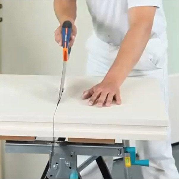 Comment monter une cloison d 39 int rieur leroy merlin - Monter une cloison en bois ...