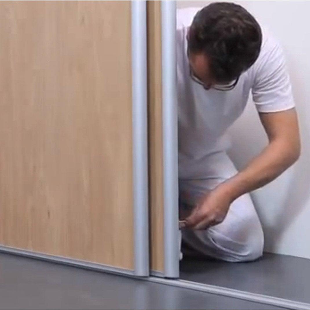 Comment poser une porte de placard leroy merlin Leroy merlin rangement  placard