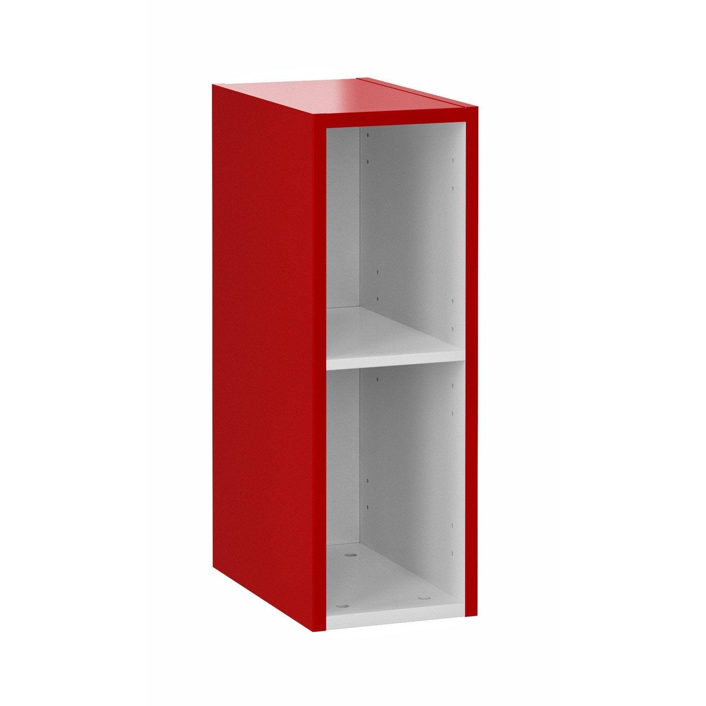 Extension pour meuble sous vasque x x cm rouge remix ler - Meuble sous escalier leroy merlin ...