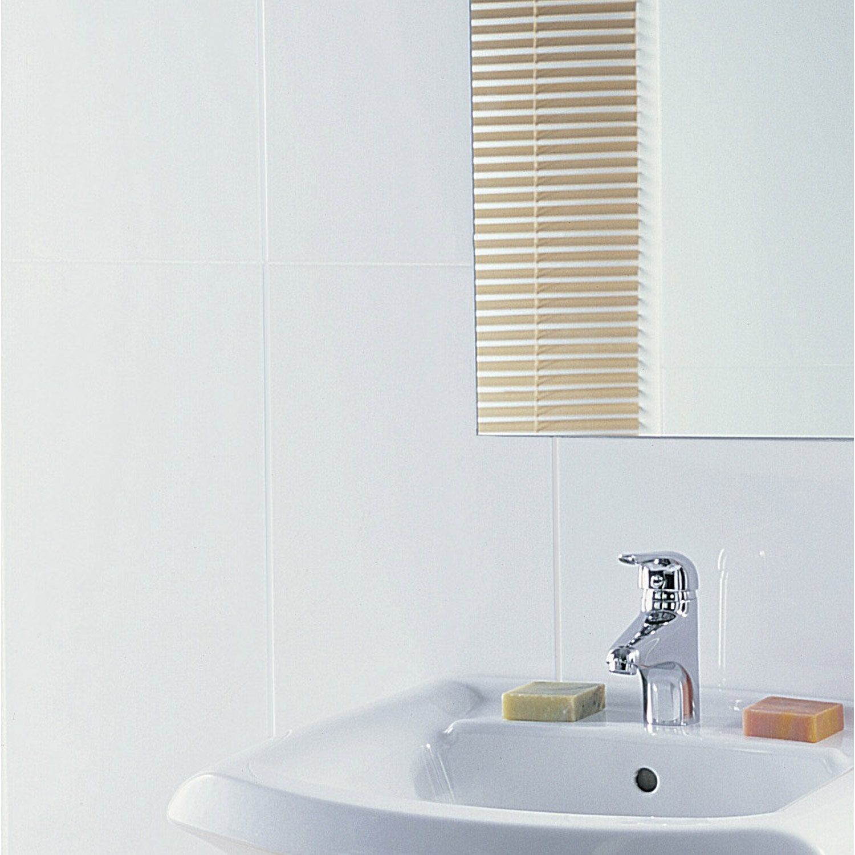 fa ence mur blanc mat rubix x cm leroy merlin. Black Bedroom Furniture Sets. Home Design Ideas