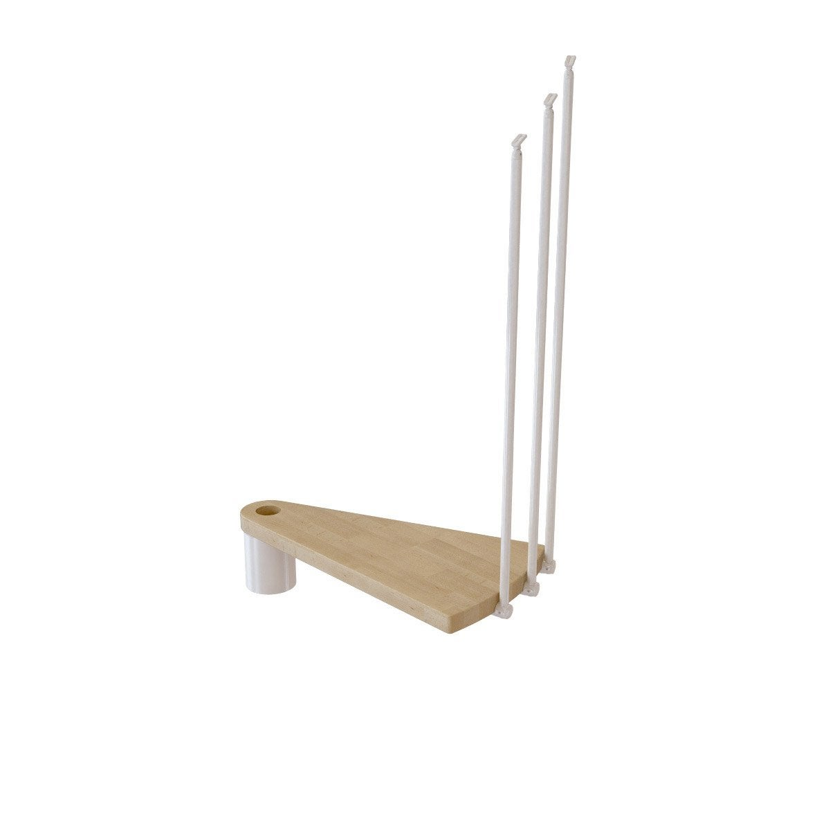 hauteur pour escalier ring blanc bois clair diam 148 cm leroy merlin. Black Bedroom Furniture Sets. Home Design Ideas