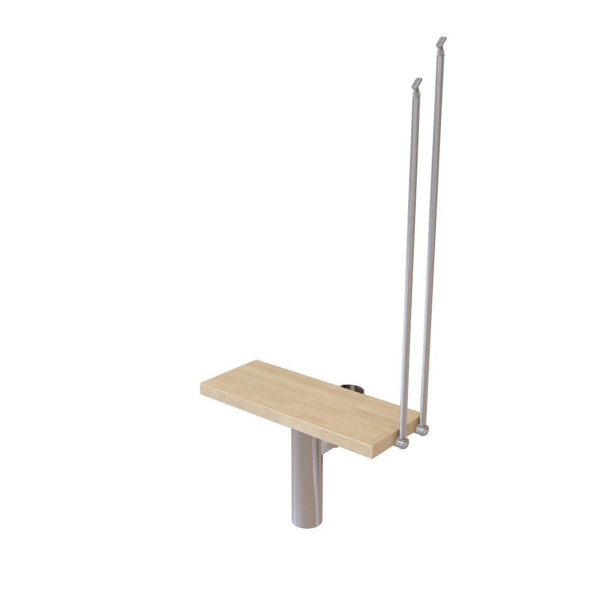 hauteur pour escalier long chrom bois clair larg 90 cm leroy merlin. Black Bedroom Furniture Sets. Home Design Ideas