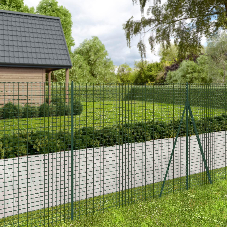 grillage rouleau soud forte medium nature vert h 1 8 x l. Black Bedroom Furniture Sets. Home Design Ideas