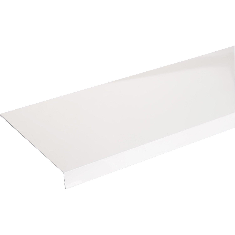 habillage de tableau aluminium 30 x 270 mm l 2 5 m leroy