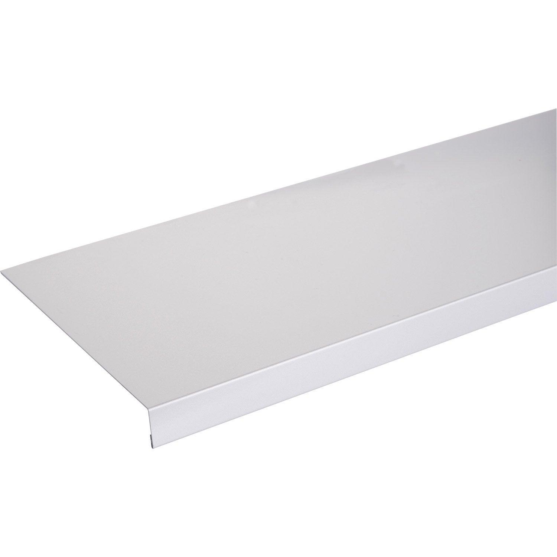 Habillage de tableau aluminium 30 x 270 mm l 2 5 m leroy for Habillage escalier leroy merlin