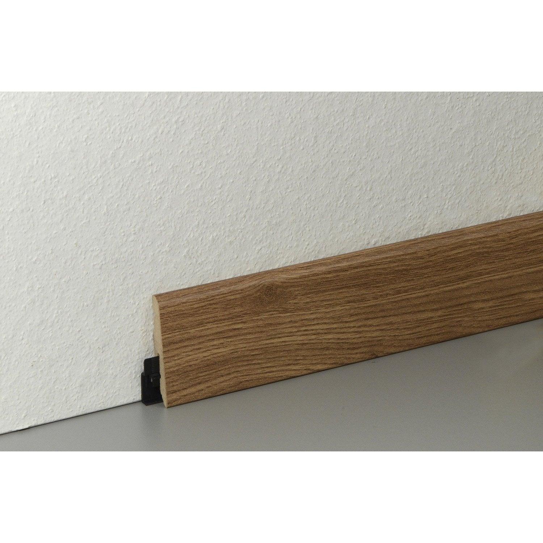 plinthe sol stratifi d cor ch ne 3 frises cm x x mm leroy merlin. Black Bedroom Furniture Sets. Home Design Ideas