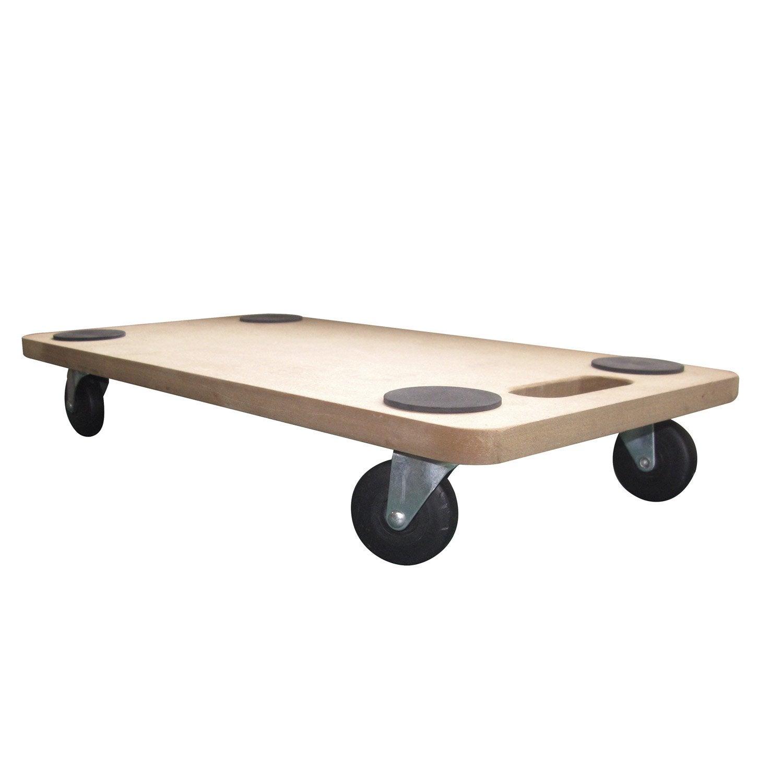 Support roulant de manutention bois leroy merlin - Outil pour deplacer meuble ...