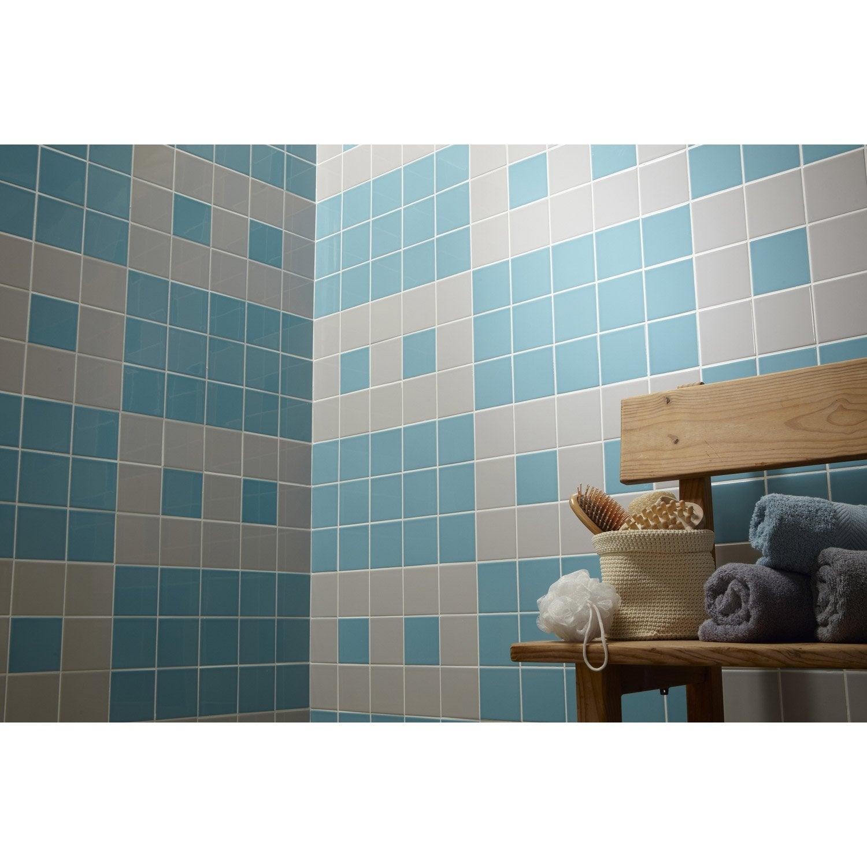 excellent voir duautres produits faence mur gris galet n. Black Bedroom Furniture Sets. Home Design Ideas