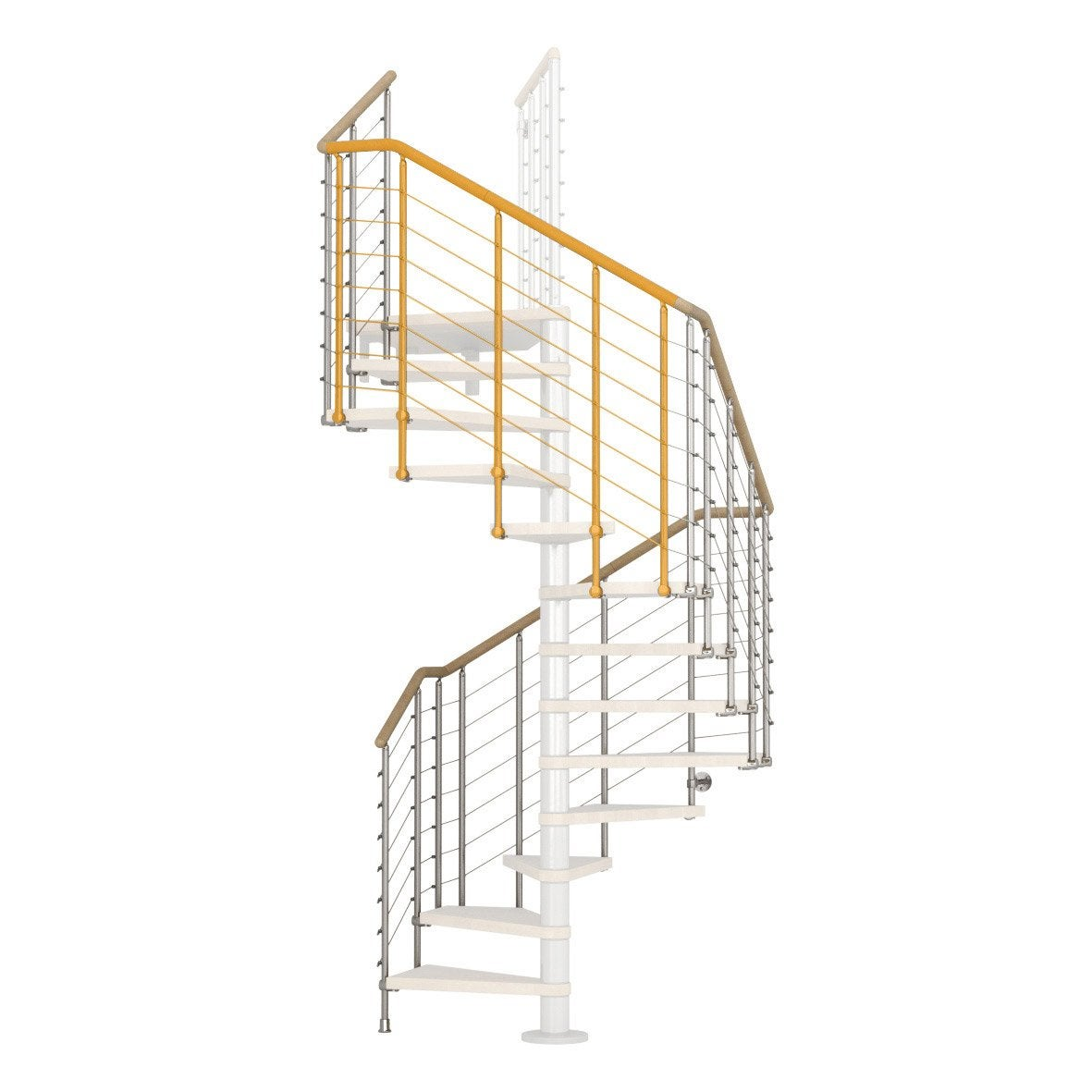 Garde Corp Bois Leroy Merlin : Garde-corps pour escalier Cube line chrom? en bois clair PIXIMA