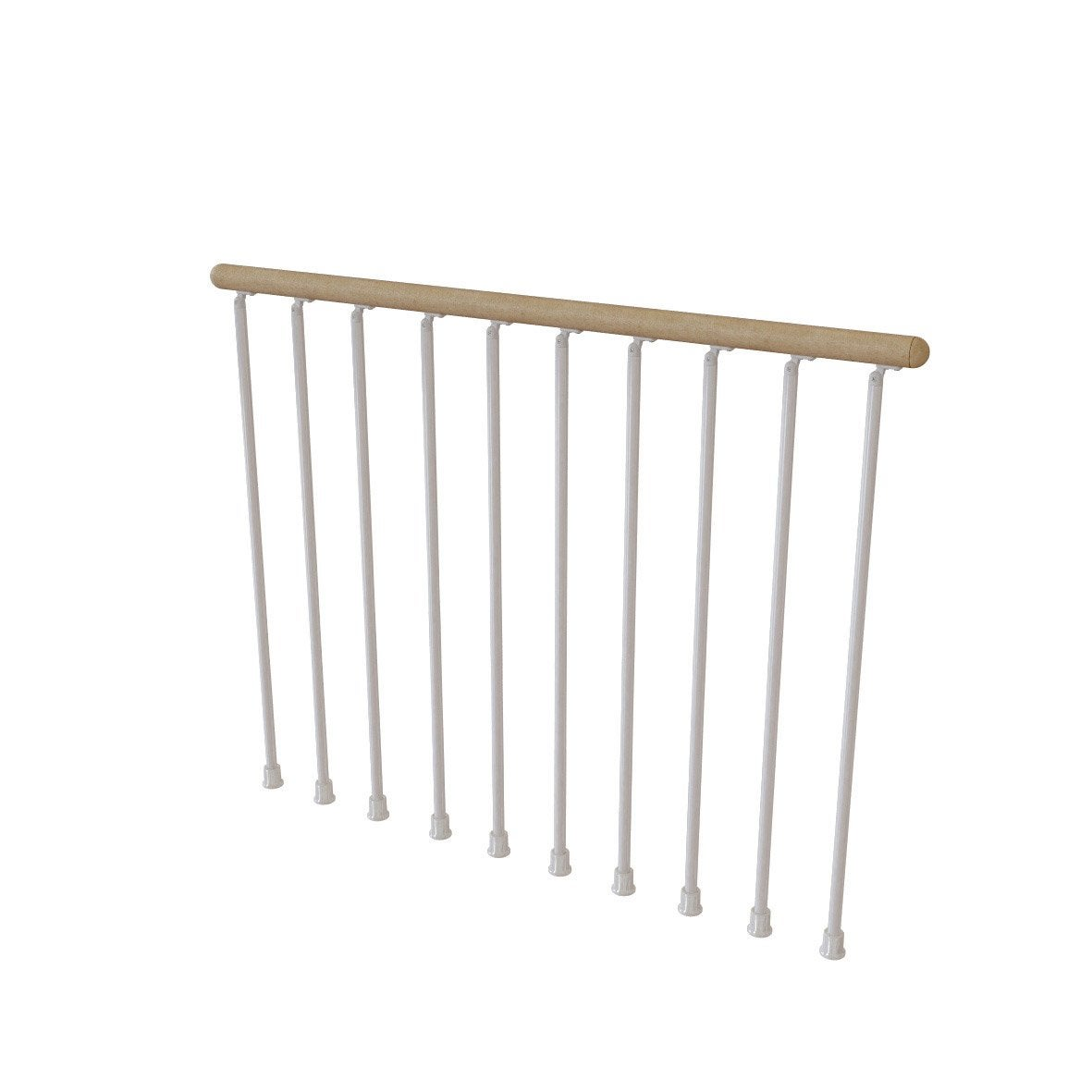Balustrade blanc bois clair leroy merlin - Balustrade pvc leroy merlin ...