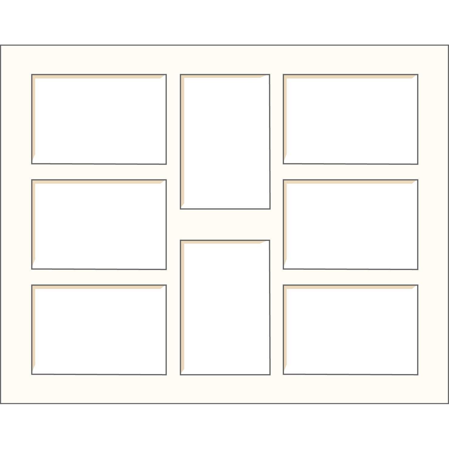 passe partout 40x50 cm blanc cass leroy merlin. Black Bedroom Furniture Sets. Home Design Ideas