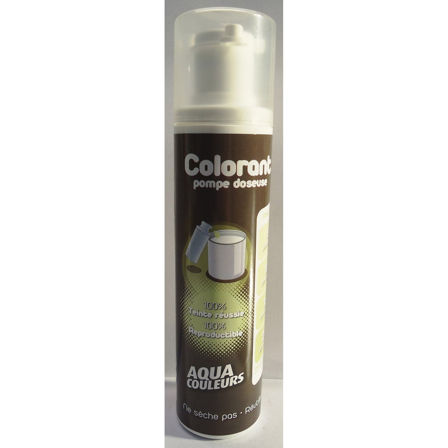 colorant pompe 100ml pistache leroy merlin. Black Bedroom Furniture Sets. Home Design Ideas