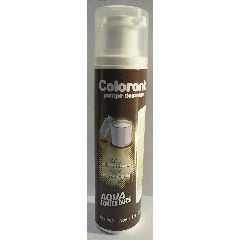 Colorant sp cial peinture acrylique aquacouleurs vert amande 100 ml leroy merlin for Peinture vert amande